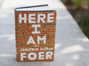 Here I Am by Jonathan Safran Foer (Emily Bogle/NPR)