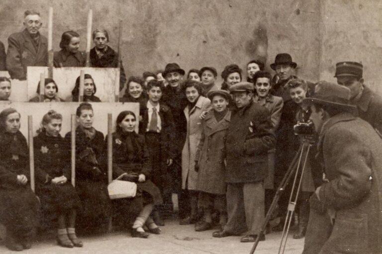 Inhabitants of the Lodz Ghetto
