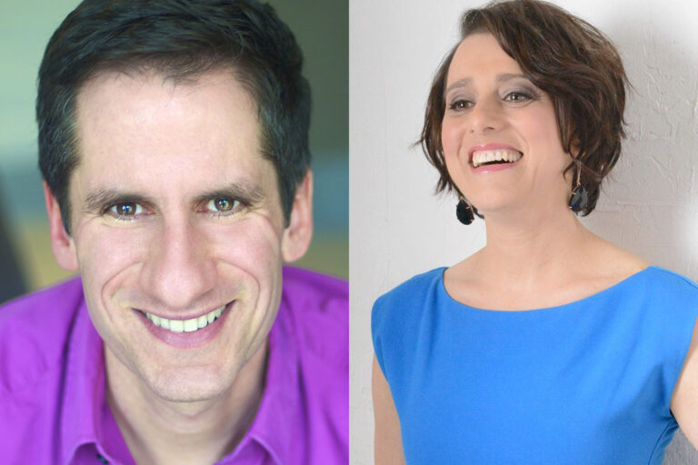 Acclaimed Broadway stars Seth Rudetsky and Judy Kuhn